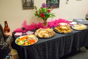 a great spread! photo by Rick Tizzard